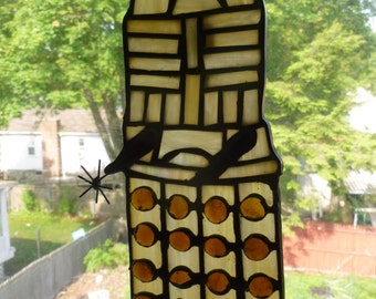 DALEK Dr Who Stained Glass Seriously Cool
