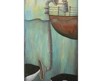 cetacean audioscope - Print 11 x 14