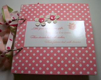 Little Girls Mini Scrapbook Album, Little Girls 6x6 album, Little girls album, little girls, little girls photo album, brag book