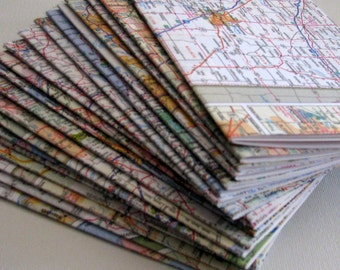 12 Canada road atlas map pamphlet bulk journal set