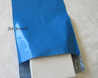 50 Mailing Envelopes, Poly Mailers, Shipping Envelopes, Blue Mailers, Blue Envelopes, Plastic Mailers, Shipping Bags, Self Sealing 6x9