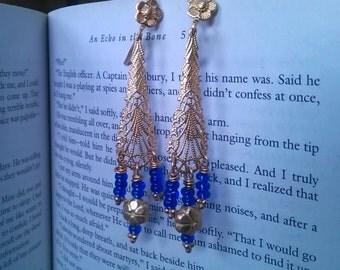 Outlander Earrings -  Diana Gabaldon Inspired - Outlander Jewelry - Outlander Theme Earrings