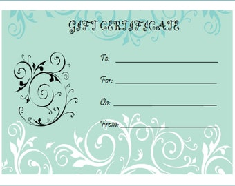 Gift Certificate for One Custom Mobile