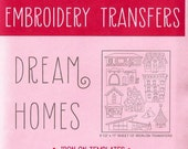 Sublime Stitching Iron On Transfer Embroidery Pattern - Dream Homes