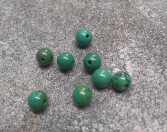 8 Turquoise Beads
