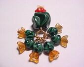 7 pc Multi Glass Bead Cactus- Discocactus Mom & Kids