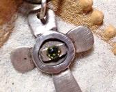 Type O Negative cross necklace