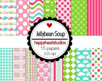 Digital Scrapbooking JellybeanSoup-INSTANT DOWNLOAD