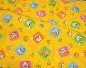 Coro coro kuririn fabric light weight fat quarter