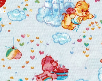 Twin little stars and Care Bears Fabric Half meter