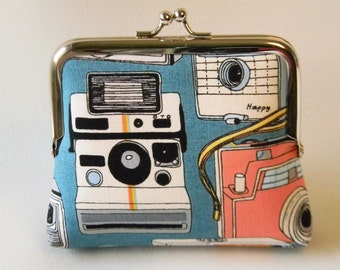 Retro Cameras Coin Purse
