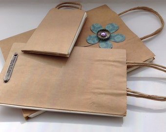 Customized Brown Bag Book