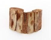 Birch bark bracelet, Tetrad