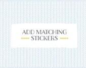 Add matching STICKERS