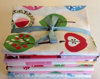 SALE - In the Beginning Fabrics Home To Roost Pack - Eight Fat Quarters