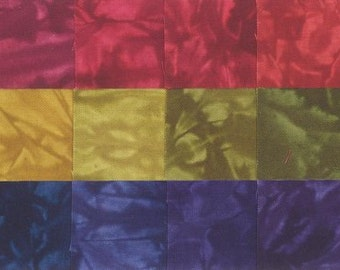 Starr Design 30 Pack Fat Quarters Harvest Festival  Hand Dyed Cotton Fabrics