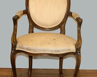 Design your Own Vintage Victorian French Bergere Chair - Custom Order