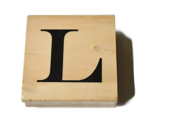 letter l rubber stamp monogram rubber stamp l initial rubber With letter l stamp