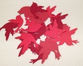 Red Birds, Christmas, Cardinals, Scrapbooking, Supplies, Paper Goods, Die Cuts, Cardstock, Decoration, Table Scatter, Cards, Tags, Mobiles