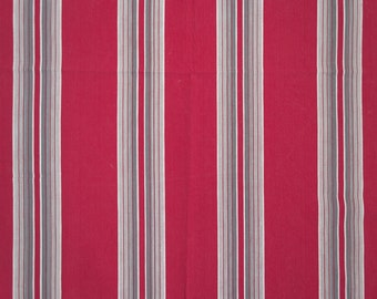 Cherry red French vintage ticking