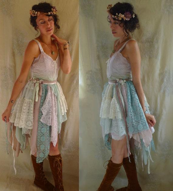 Fairy Rag Doll Dress Size Medium Whimsical Far Pixie