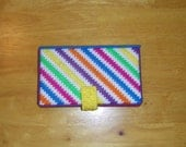 Neon ZigZag Wallet PATTERN ONLY