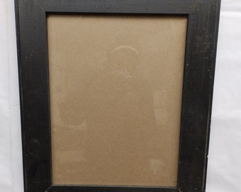 Shabby Black Wood Picture Frame 11 x 14 Shabby Recycled chic S 1956-14