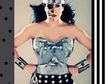 Dark / Evil Wonder Woman Full Costume WITH CAPE Hurry...