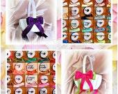 Flower girl basket - weddings baskets - custom colors flower girl baskets - ceremony accessories decor