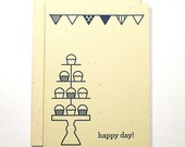 Happy Day - Letterpress Card