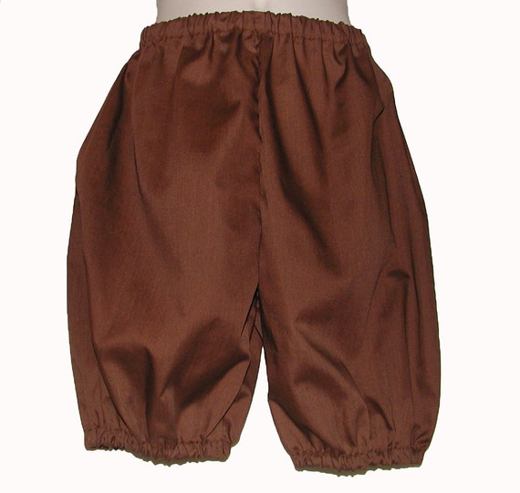 Brown Costume Britches for Boys: Size 2 / 3