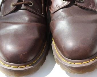 Vintage Men's Brown Dr. Martens Doc Martens