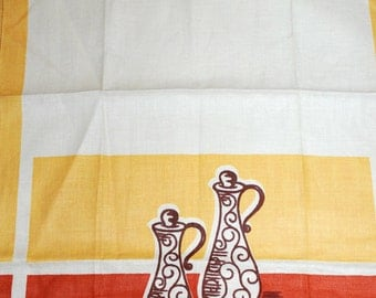 Vintage Cruets Kitchen Towel