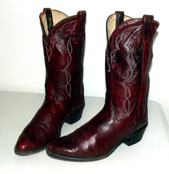 burgundy wine colored boots images