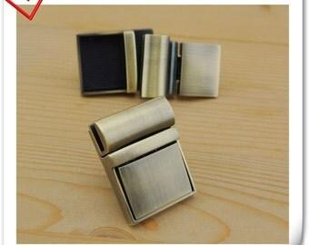 Anti bronze clutch purse lock / tongue lock /Purse lock /clutch lock /latch lock / latch/28mm x 38mm (1.25 inch x 1.5 inch ) N11