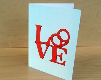 Set of 8 Pretzel Love Cards