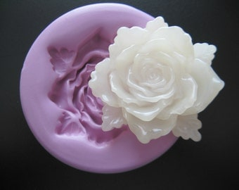 Rose Mold Flower Silicone Flexible Clay Resin Mould