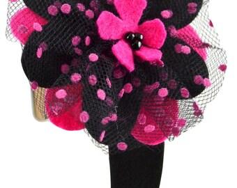 Adelle GirlsFelt Flower Headband