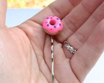 Donut Bobby Pin
