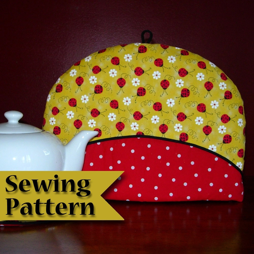 Tea cosy sewing pattern diy tea cozy pattern make your for Tea cosy template