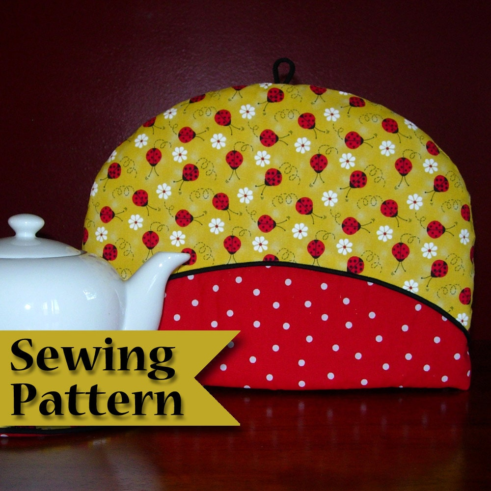tea cosy template - tea cosy sewing pattern diy tea cozy pattern make your