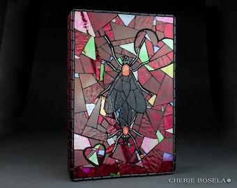 Soulmates: The Lovebug Story Mosaic Fine Art