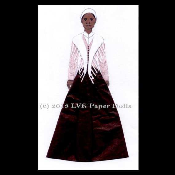 Sojourner Truth Paper Doll