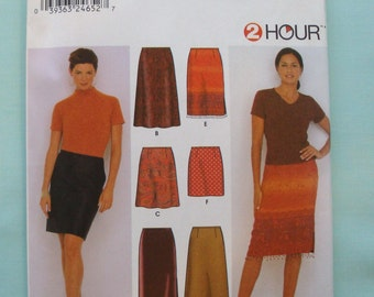 Simplicity 9569 - 2 hour Misses Skirt Pattern - Skirt Pattern - Easy Sewing Pattern
