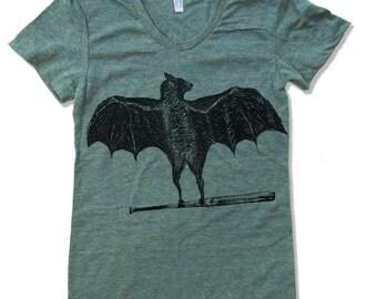 Womens BATS T Shirt American Apparel S M L XL (16 Colors)