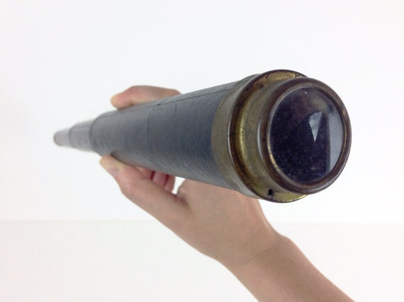 Antique pirate telescope
