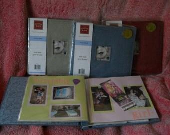 Suede Album Scrapbooking Photo Album 8 x 8