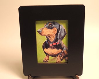 ACEO frame for sport cards, aceo cards, trading cards, wooden with stand included