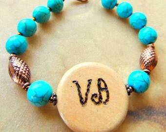 Cherokee Language, Turquoise Jewelry, Peace Jewelry, Native Style Jewelry, Copper Jewelry, Handcrafted Jewelry, Gemstone Jewelry, Unisex