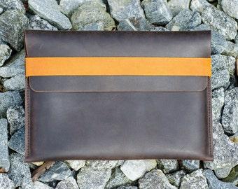 MacBook Pro Leather Sleeve - RAW (Organic Leather)